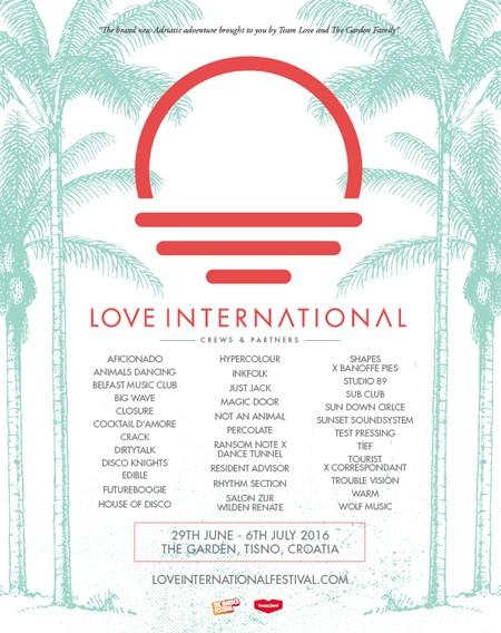 Leto u Tisnom počinje uz Love International