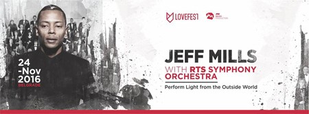 Lovefest Experience - Jeff Mills & RTS Symphony Orchestra