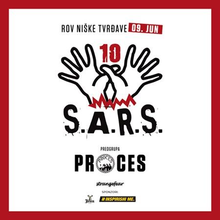 S.A.R.S. i Proces u Nišu u 9.juna!