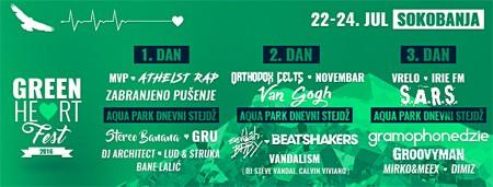 Green heart fest 2016 u Soko banji