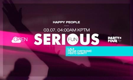 KPTM rođendanski parti uz Happy People