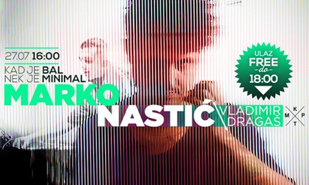 Marko Nastić pravi ŽURKU ZA PAMĆENJE @ KPTM