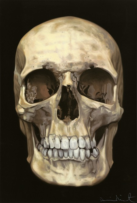 Lobanja ispod kože (The Skull Beneath the Skin) (2005), fotografija Prudence Cuming Associates, Paul Stolper Gallery © Damien Hirst and Science Ltd. Sva prava pridržana, DACS 2016