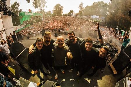 Lovefest 2016 - Cocoon ekipa, Fire stage