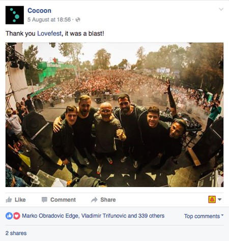 POGLEDAJTE: Šta su svetske zvezde rekle o Heineken Lovefestu