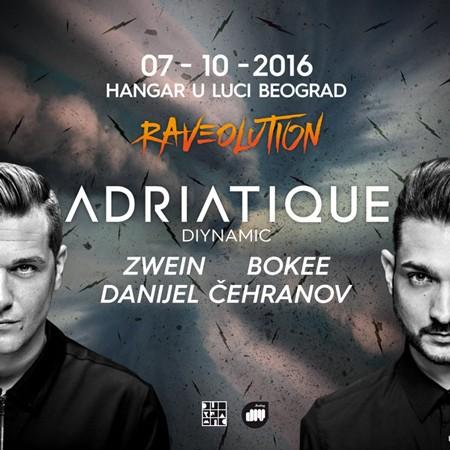 Adriatique na Raveolution-u 7. oktobra!