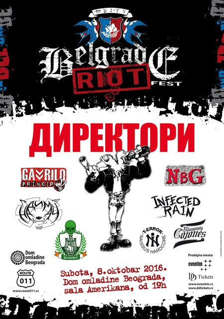 2. Belgrade Riot Fest: Čuveni pank bendovi ponovo na okupu