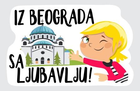 """Grad Beograd dobija Viber Sticker Pack iz serije """"Young Love In..."""""""