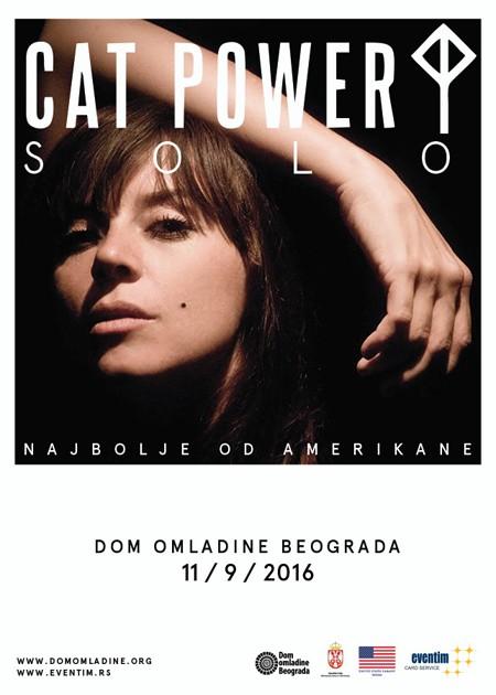 Cat Power premijerno u Srbiji!