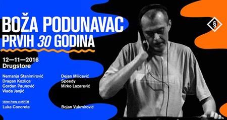 DJ Boža Podunavac - Prvih 30 godina!