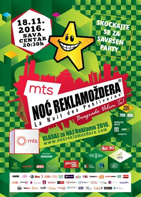 Proslavimo zajedno 20 godina od prve beogradske Noći Reklamoždera!
