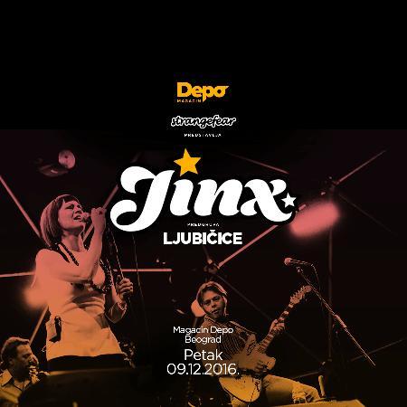 Koncert benda Jinx u Magacinu Depo