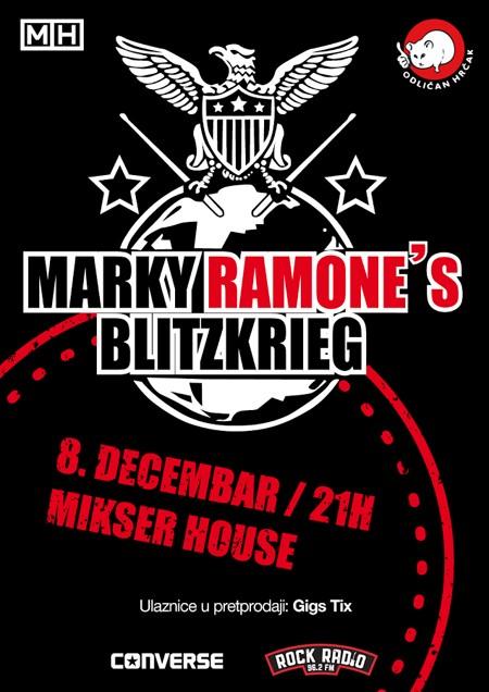 40 godina panka: Marky Ramone Blitzkrieg u Mikser-u