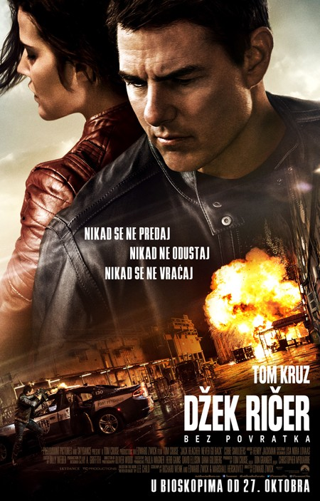 Tom Kruz ponovo u ulozi Džeka Ričera!