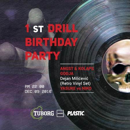 1st Drill Birthday / Dejan Milićević Retro Vinyl Set