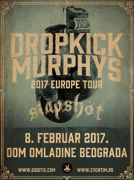 Dropkick Murphys prvi put u Srbiji!
