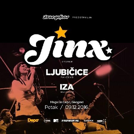 Koncert benda Jinx sa 13 ljudi na sceni