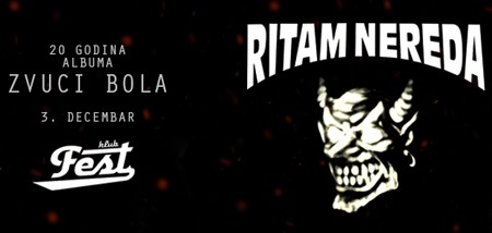 "Ritam Nedera slave 20 godina albuma ""Zvuci bola"""