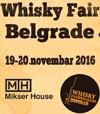 Prvi sajam viskija u Beogradu - WHISKY FAIR