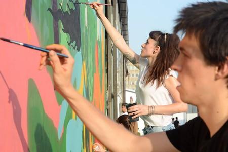 Novogodišnji street art market @ Dorćol Platz