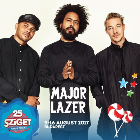 MAJOR LAZER na Sziget festivalu