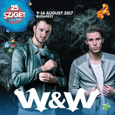 W&W na Sziget festivalu