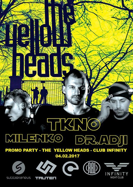Promo party - the Yellowheads - Club Infinity Niš