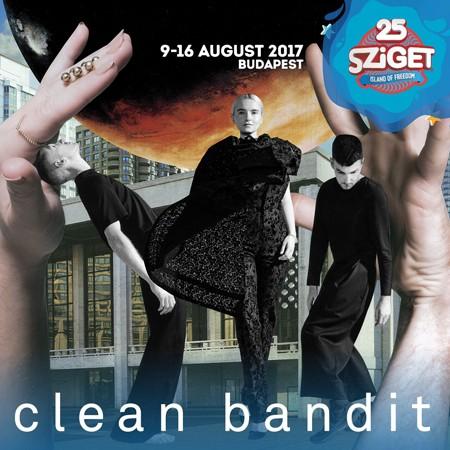 CLEAN BANDIT na Sziget festivalu!