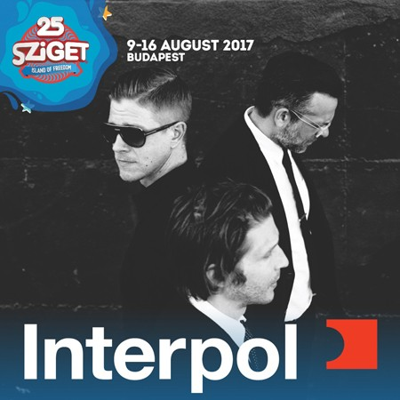 INTERPOL na Sziget festivalu!