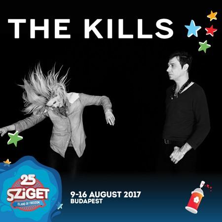 THE KILLS na Sziget festivalu!
