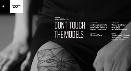 Don't touch the models • DOT