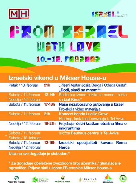 Ne propustite izraelski vikend u Mikseru