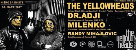 YellowHeads premijerno u Srbiji!