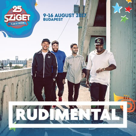 RUDIMENTAL na Sziget festivalu!