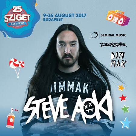 STEVE AOKI na Sziget festivalu!