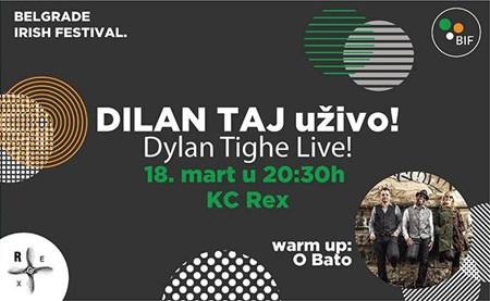 Dilan Taj nastupa na 5. Beogradskom irskom festivalu