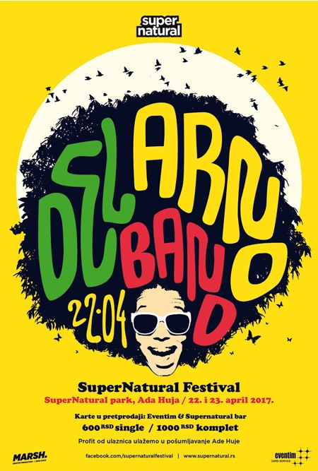 Program Supernatural festivala 2017 22. i 23. april Ada Huja