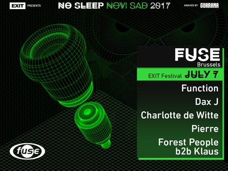Fuse prvi objavio ubitačnu postavu za No Sleep Novi Sad na Exitu!