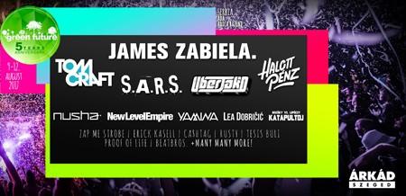 James Zabiela na Green Future Festivalu!