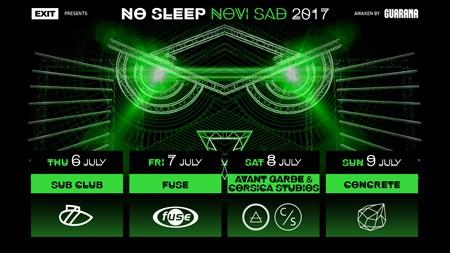 No Sleep Novi Sad 2017: Ovo su klubovi u koje izlazimo na Exitu!
