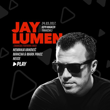 PLAY by Jay Lumen: Još samo 5 dana do žurke u Depou