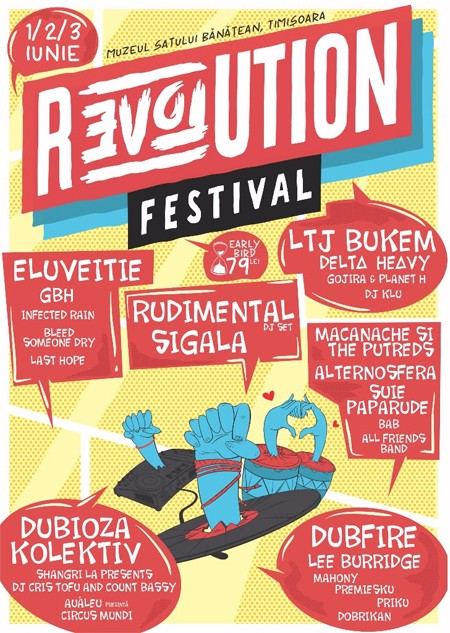 REVOLUTION Festival: 3 dana non–stop programa