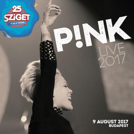 P!NK na Sziget festivalu