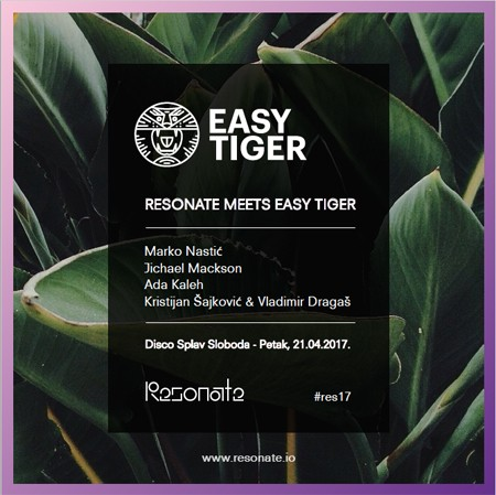 EASY TIGER na RESONATE festivalu!