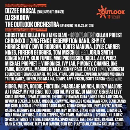 Poznati su izvođači 10. Outlook festivala!