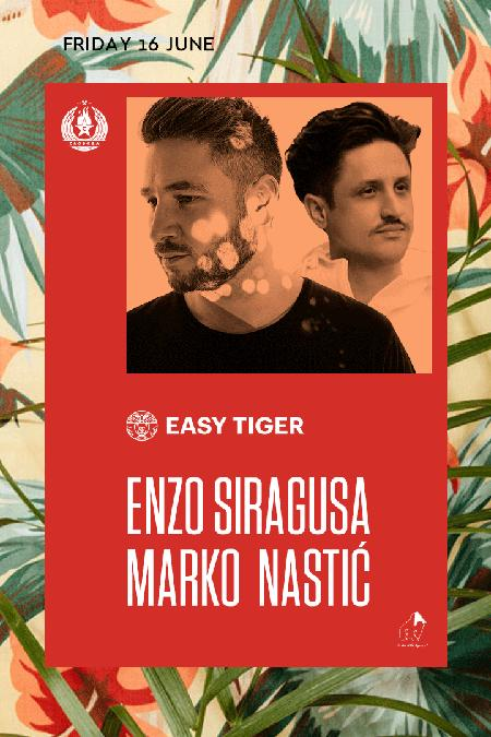 Easy Tiger presents Enzo Siragusa!