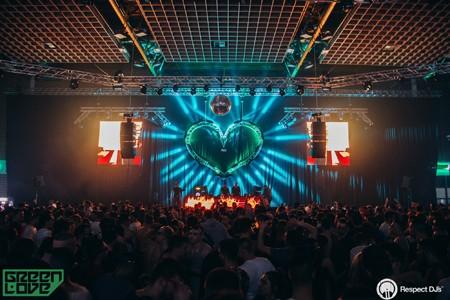 Green Love tradicionalno posvećen ženskim DJ-evima