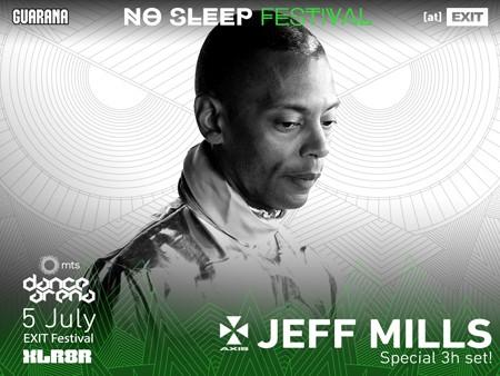 Jeff Mills na Areni pokreće prvi No Sleep Festival nultog dana Exita!