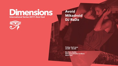 Line-up Dimensions festivala 2017