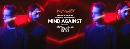 RAVEOLUTION: Karte za Mind Against po promo ceni